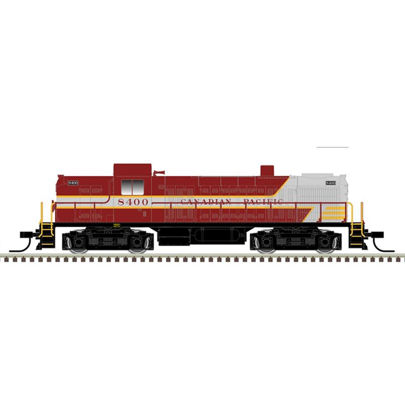 Canadian Pacific 8402 (Maroon/Gray)
