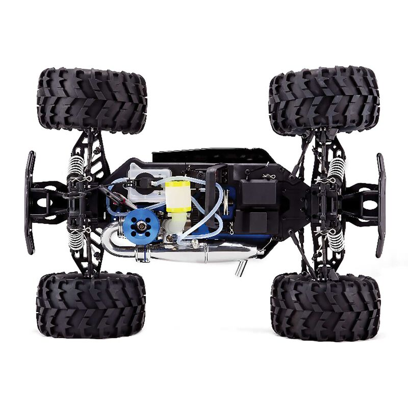 1/8 Earthquake 3.5 4WD Nitro Monster Truck RTR, Red