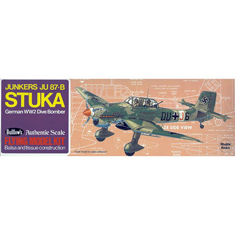 """Junkers JU 87-B Stuka Kit, 16.5"""""""