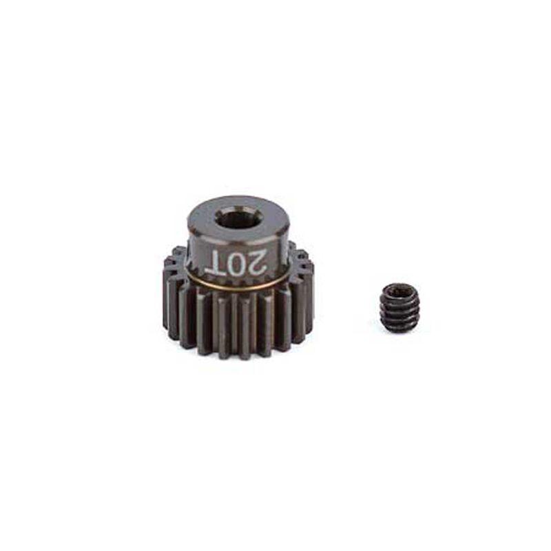 Factory Team Aluminum Pinion Gear, 20T, 48P, 1/8 shaft