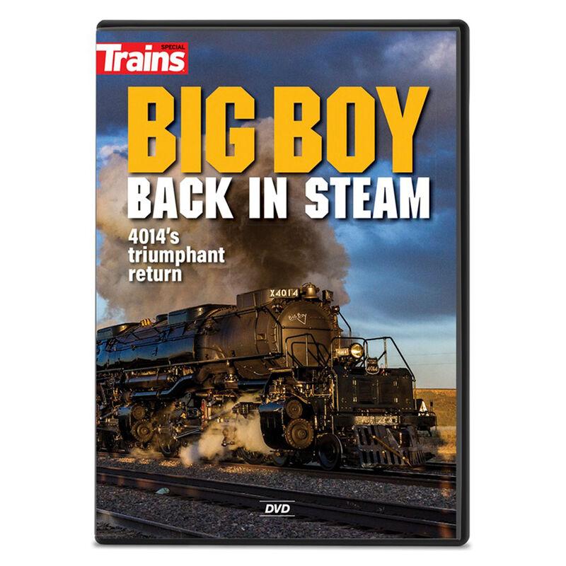 Big Boy Back in Steam DVD