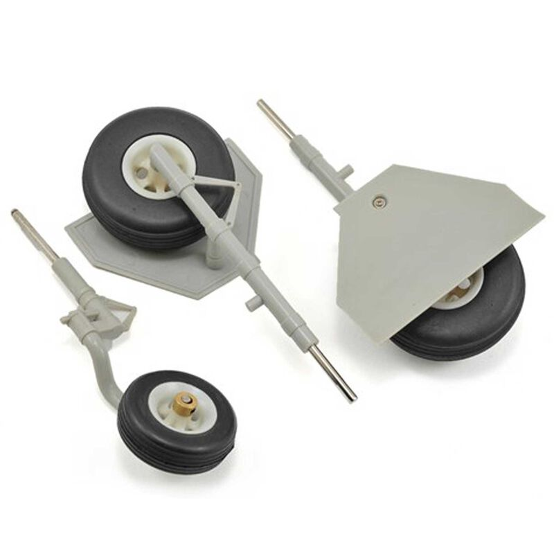 Landing Gear: 1400mm T-28 Grey