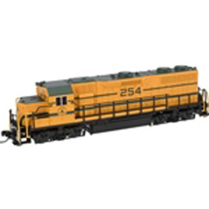 N GP38 w DCC & Sound Undecorated Dymic Brakes