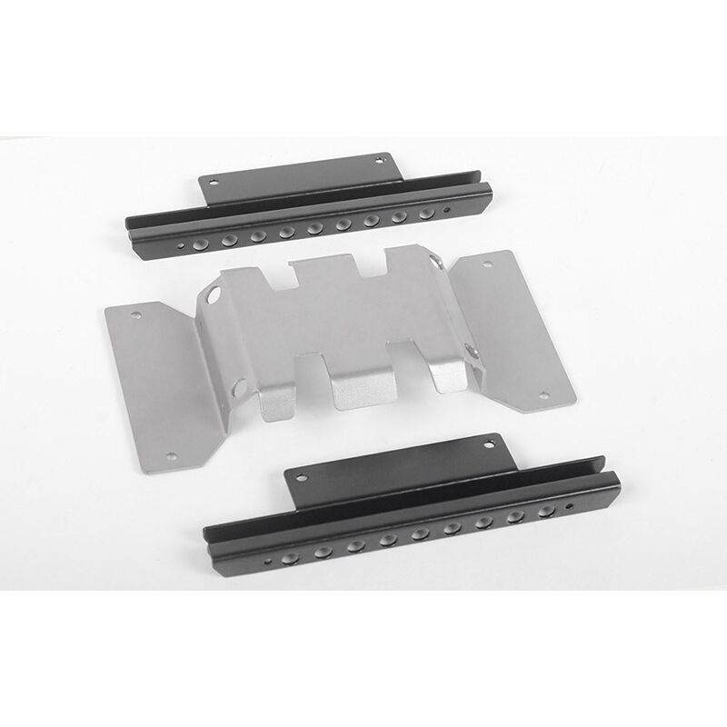 RoughStuff Skid Plate Sliders (A): MST 1/10 CMX with Jimny J3 Body
