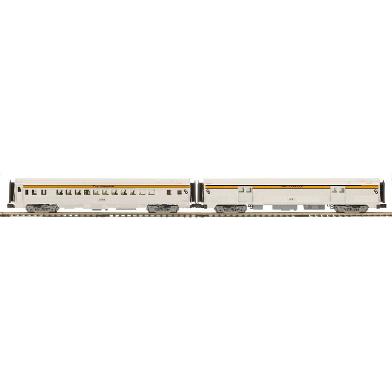 O 70' Streamline Ribbed Baggage Coach C&O #1201