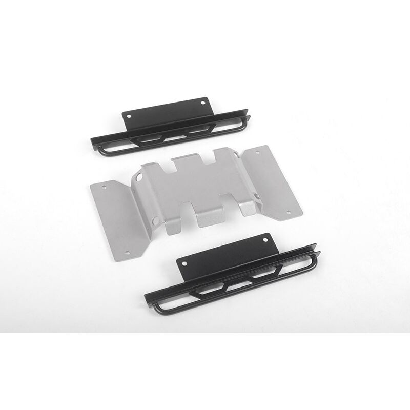 RoughStuff Skid Plate Sliders (B): MST 1/10 CMX with Jimny J3 Body