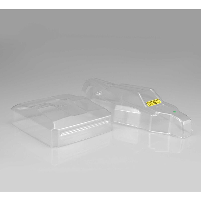 1/10 S2 Light Weight Clear Body with Aero Wing: B6, B6D, B6.2, B6.3
