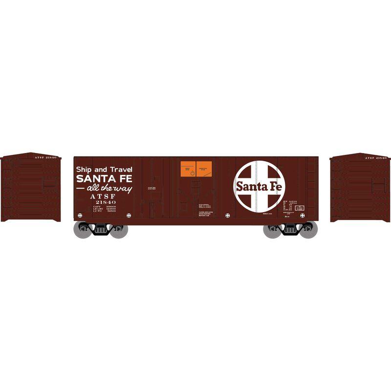 HO 40' Grain Box Car ATSF #21840