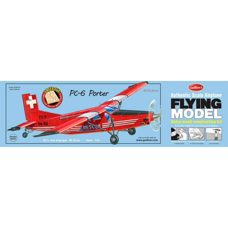 PC-6 Porter Laser Cut Kit, 26""