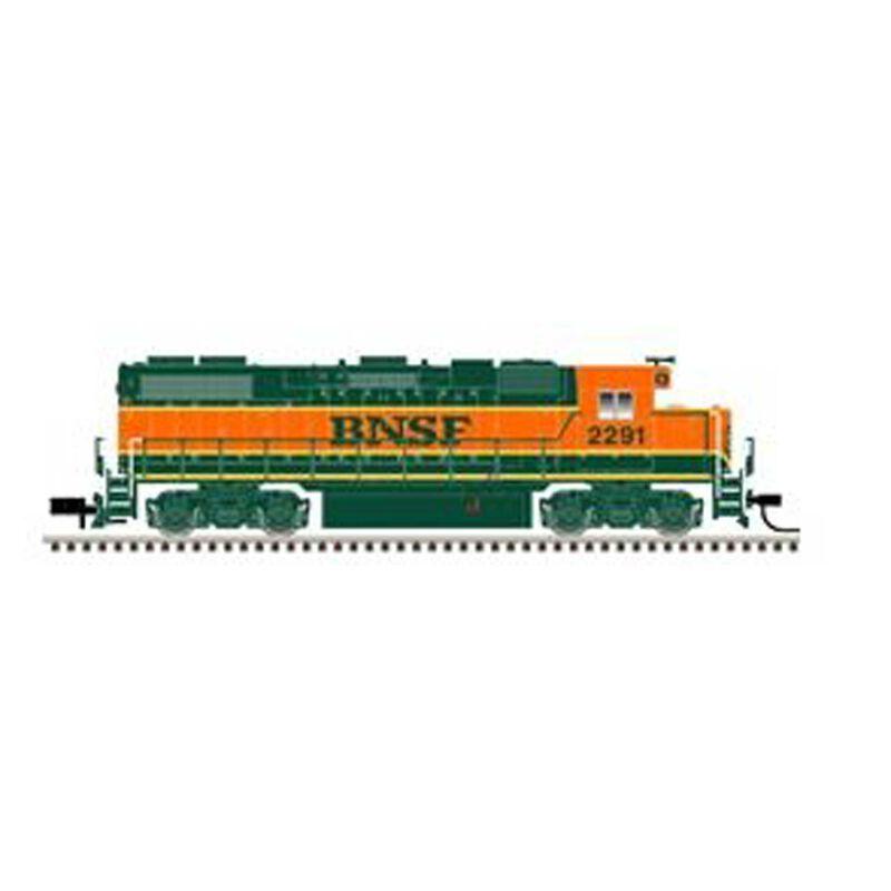 N GP38-2 w DCC BNSF #2277
