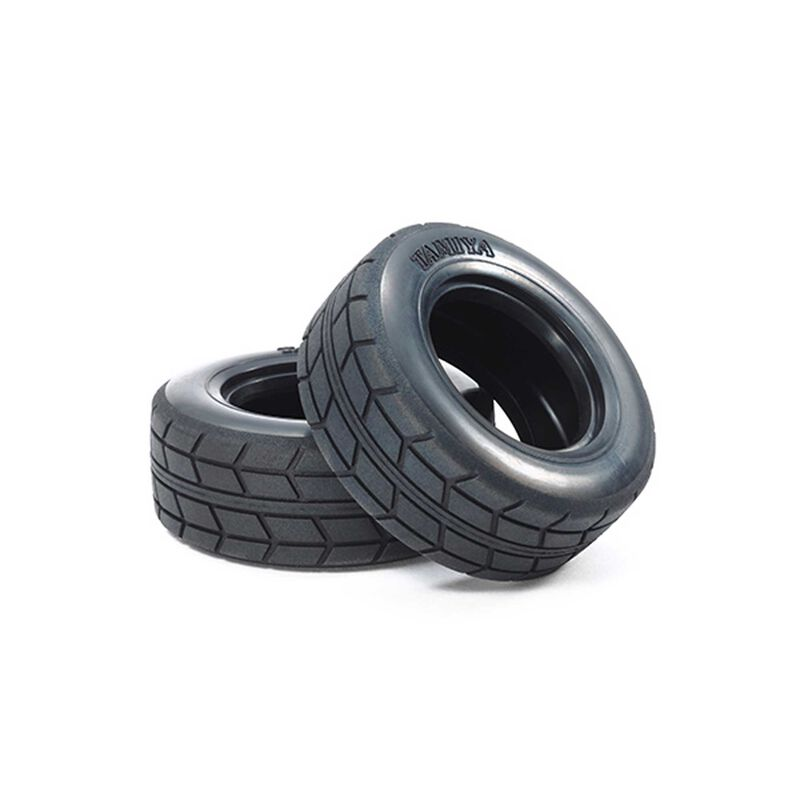1/10 On Road Racing Truck Front/Rear Tires (2)