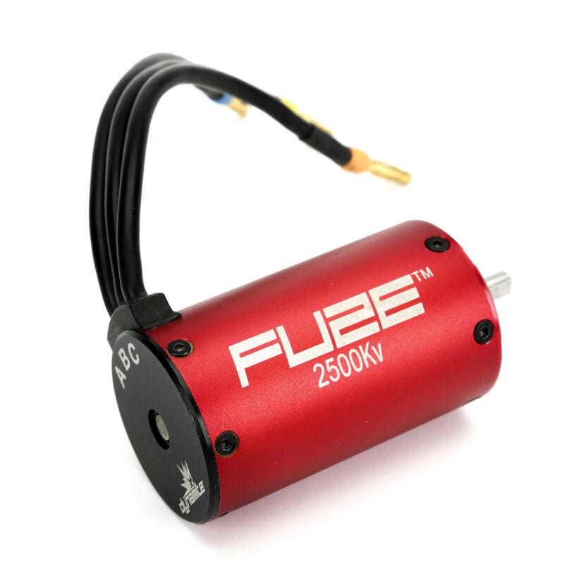 Fuze 550 4-Pole Sensorless Brushless Motor, 2500Kv: 4mm Bullet