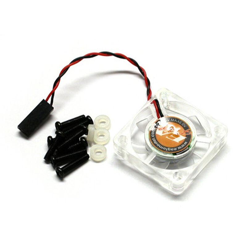 7 Fin Cooling Fan 4.8V-6V 30x30x6.5mm