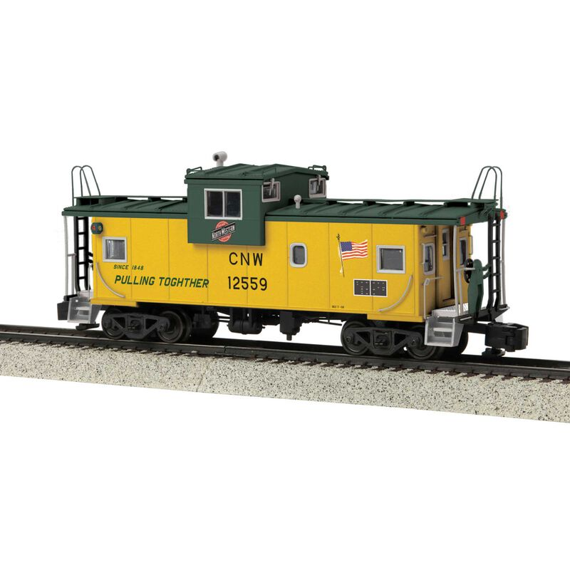 Extended Vision Caboose Hi-Rail Wheels C&NW #12559