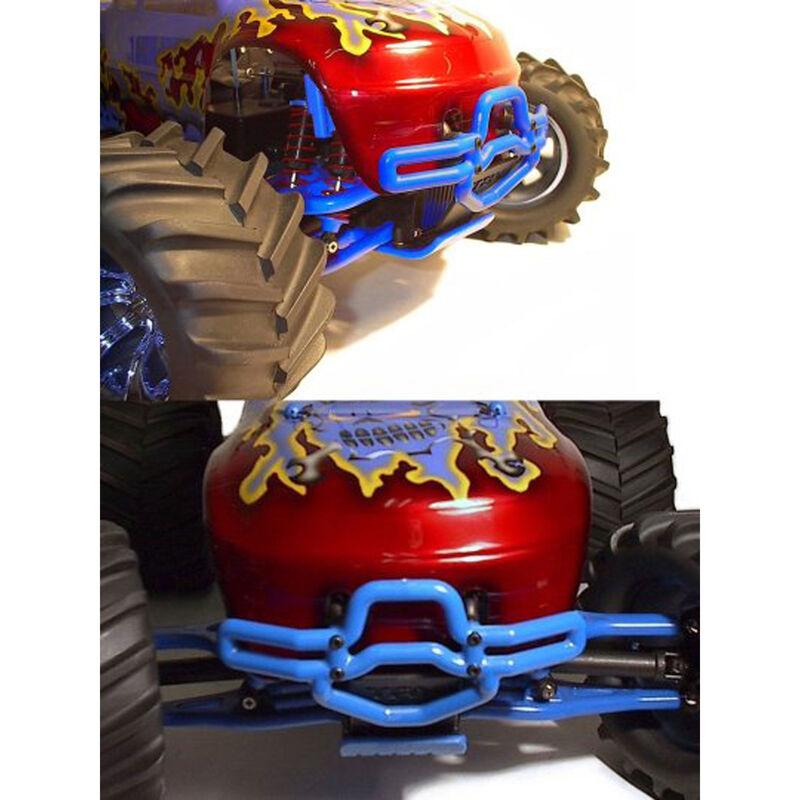 FR  Bumper,Blue:TMX 3.3,EMX