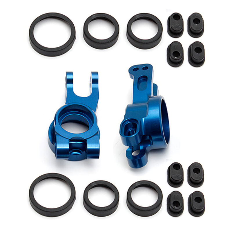 Factory Team Aluminum Rear Hubs (2): RC8B3