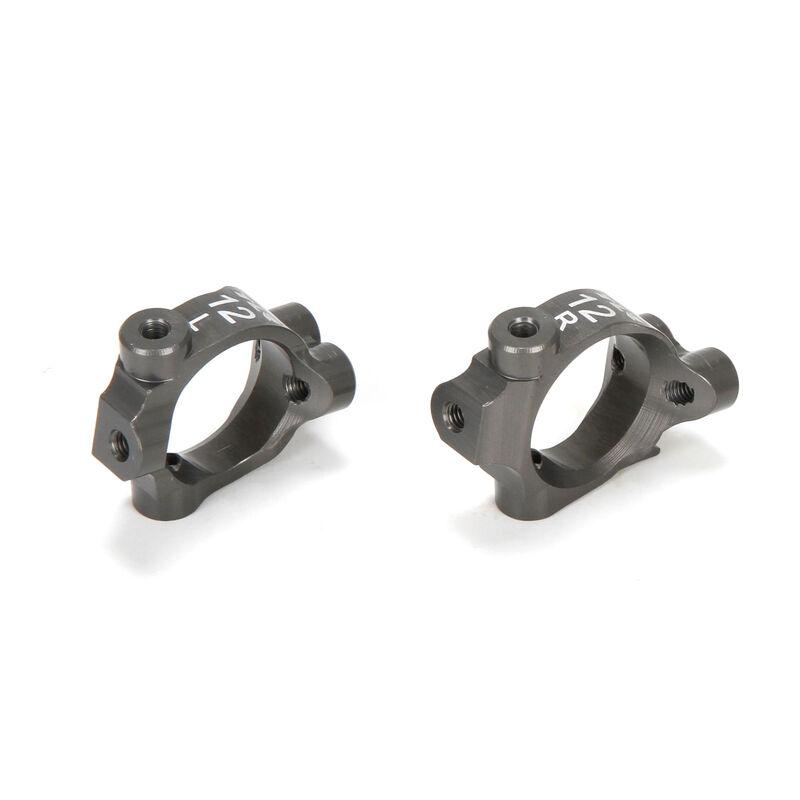 Caster Block Set, 12.5 degrees, Aluminum: 22-4