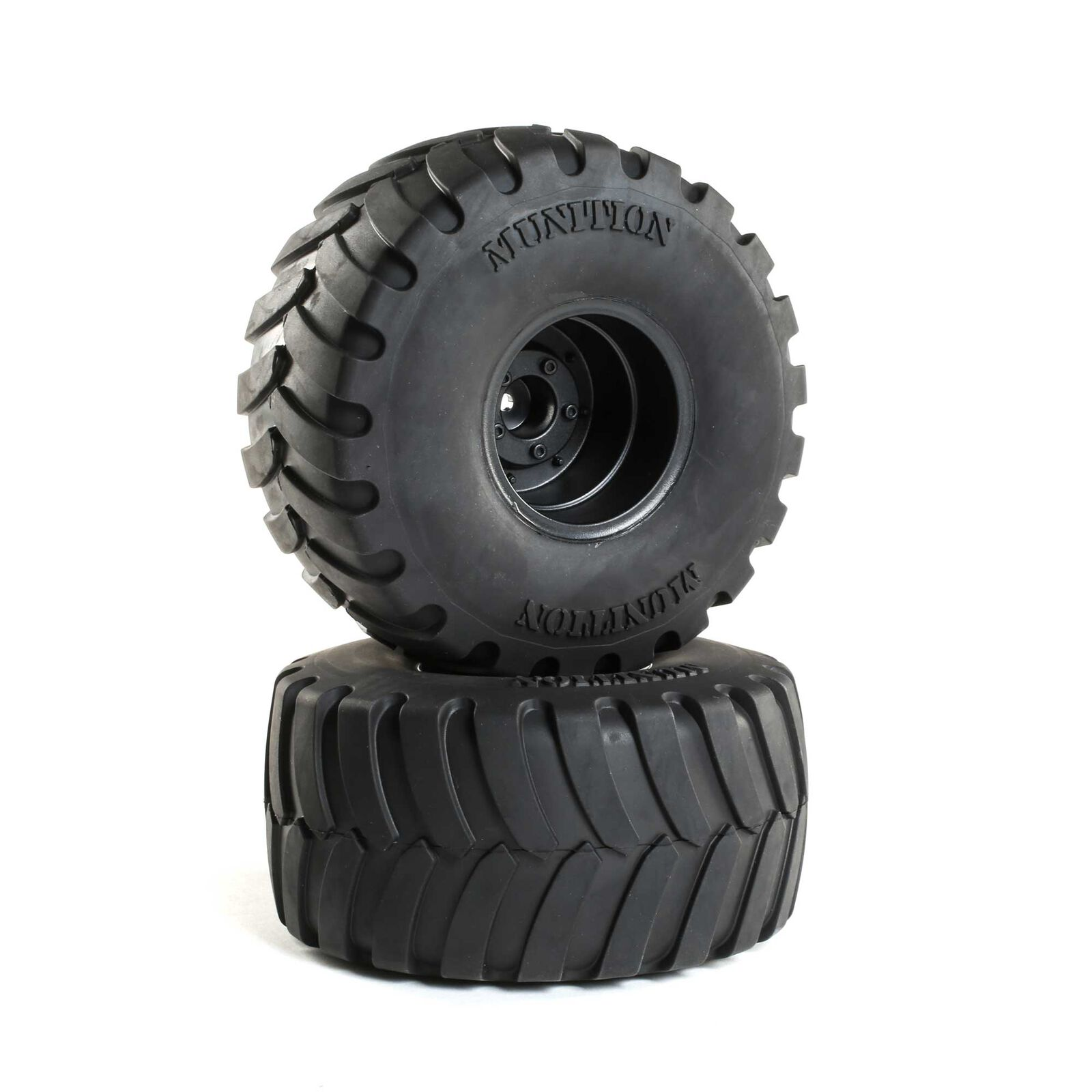 Munition MT 2.2 Mounted Tires, Black (2)