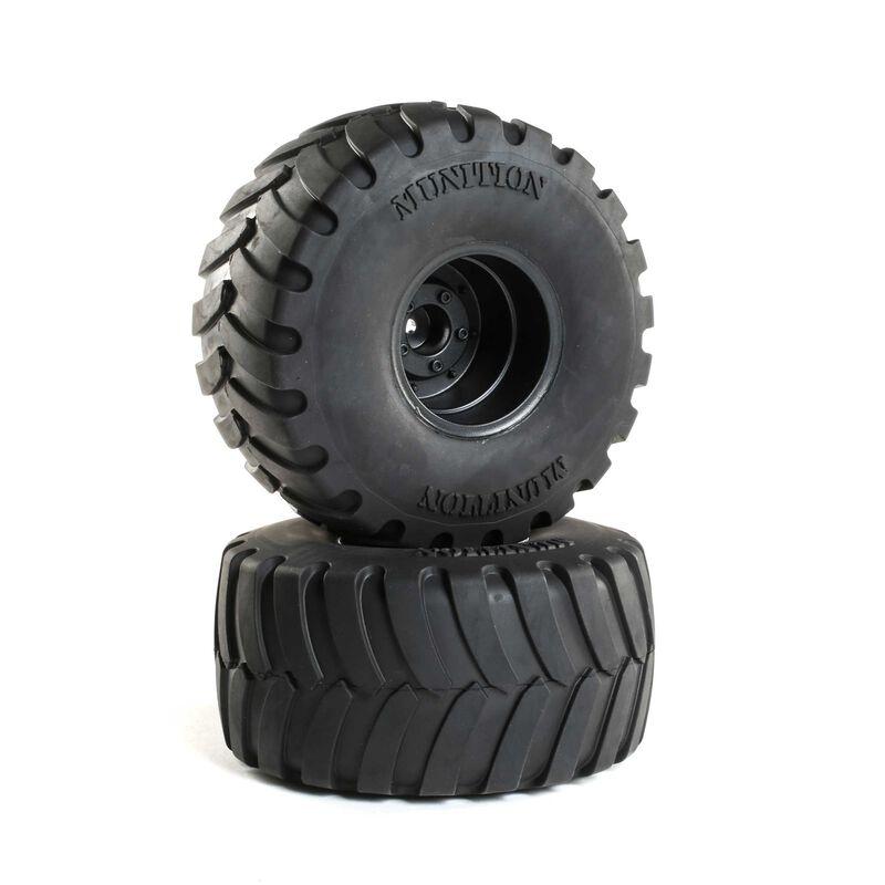 Munition MT 2.2 Mounted Tires, Black (2)