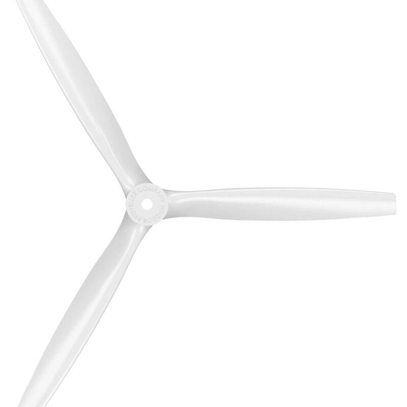 13 x 12 3-Blade Propeller, White