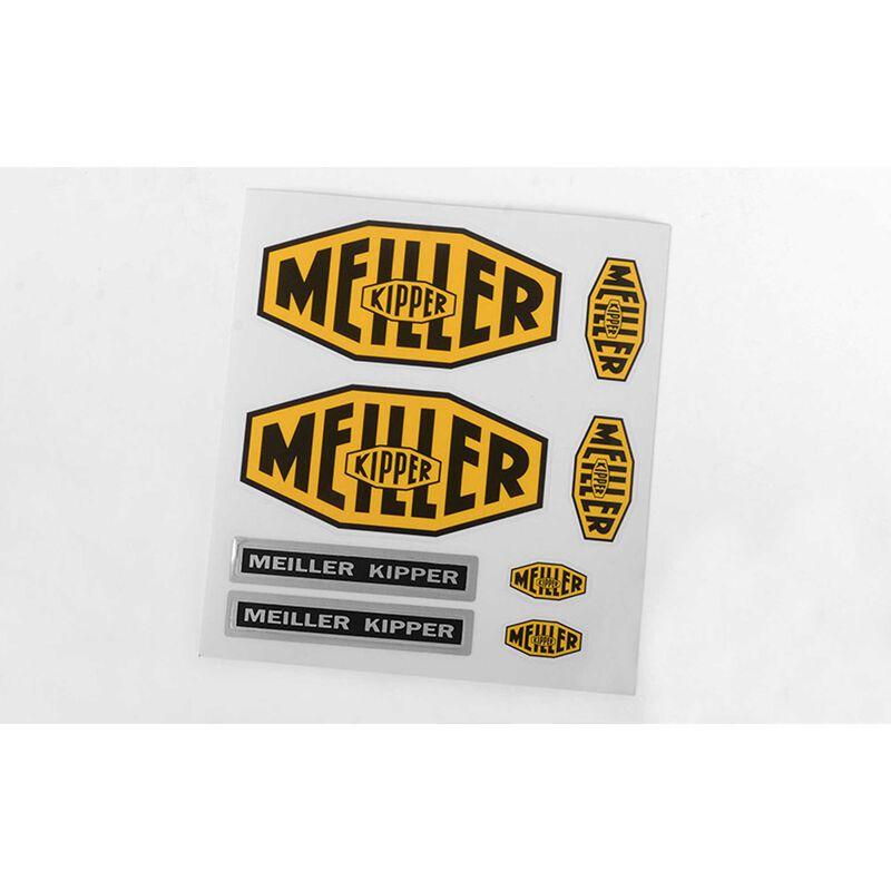 Meiller Kipper Decal Set: Arocs 3348 6x4 Tipper Truck
