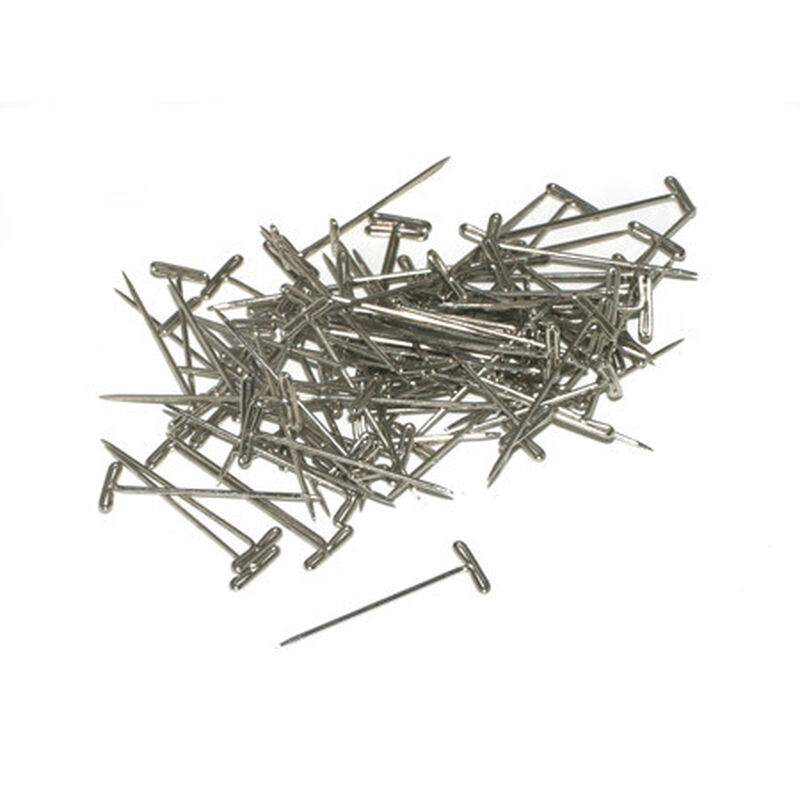 "T-Pins, Nickel Plated, 1-1/4"" (100)"