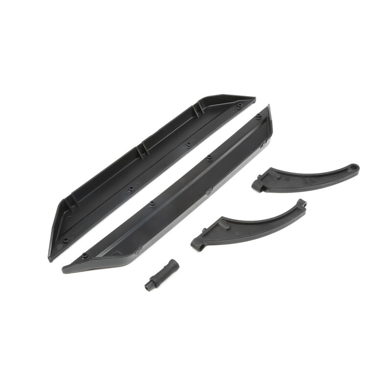 Chassis Side Guards and Braces  DBXL-E