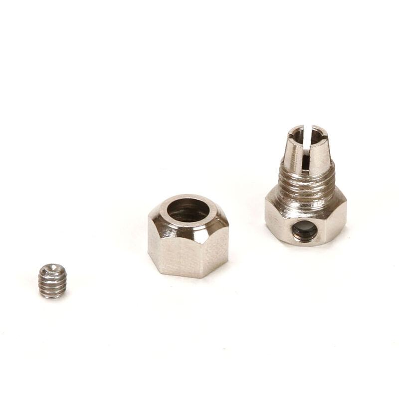 Motor Coupler, 5mm (Motor)/4mm (Flexshaft)