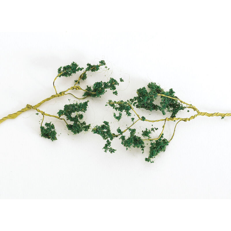 Scenescapes Wire Foliage Branches, Med Green