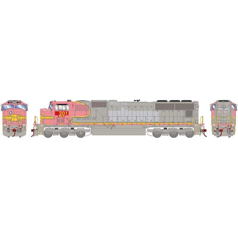 HO SD75M PRLX ex BNSF #201