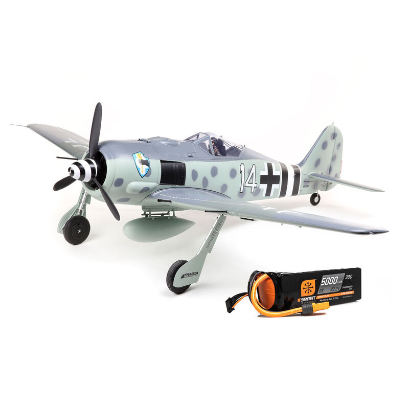 Focke-Wulf Fw 190A 1.5m BNF Basic with Smart Combo