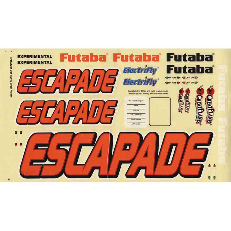 Decals Escapade .61 ARF