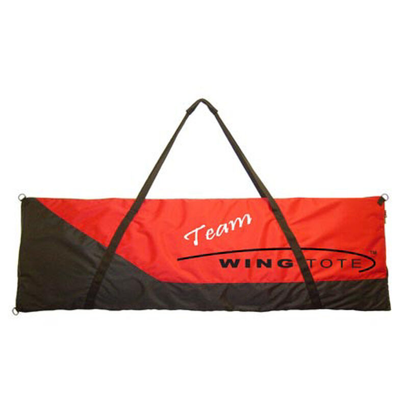"Extreme Big Tote, 82""x24""x3"", Red/Black"