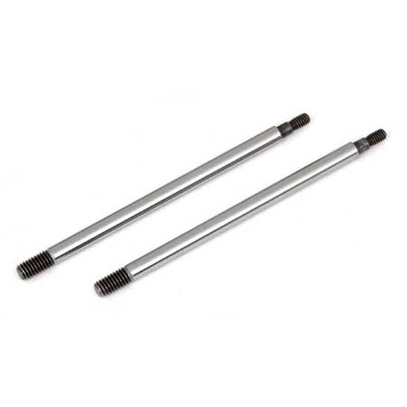Factory Team Chrome Shock Shafts, 3.5x39.5 mm (2): RC8B3