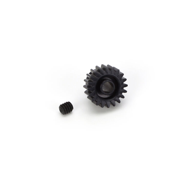 48P Hard Coated Aluminum Pinion Gear, 20T