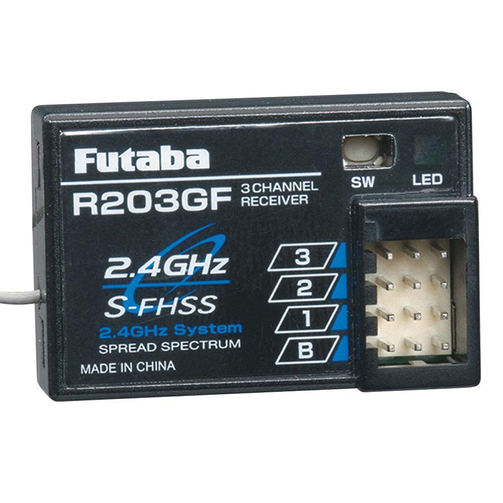R203GF 3-Channel S-FHSS Receiver