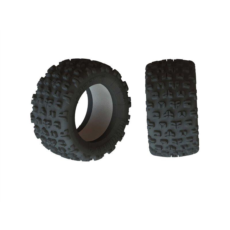 1/5 dBoots Copperhead2 SB MT Front/Rear 2.8 Tire & Inserts (2)
