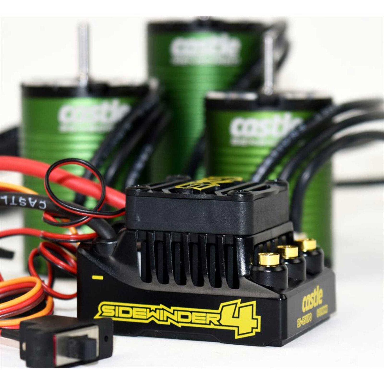 SW4 12.6V 2A BEC WP SL ESC 1406-4600 Sens Motor