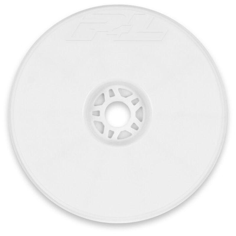 1/8 Velocity VTR 4.0 Zero Offset Wheel, White (4)