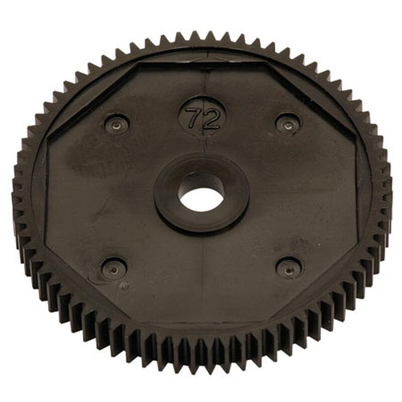 Spur Gear, 72T, 48P: B4/T4