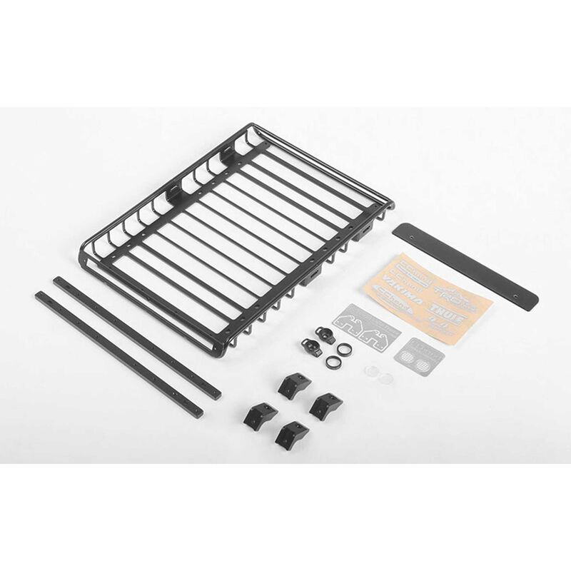 Choice Roof Rack with Rails & Rear Lights: 1985 Toyota 4Runner Hard Body