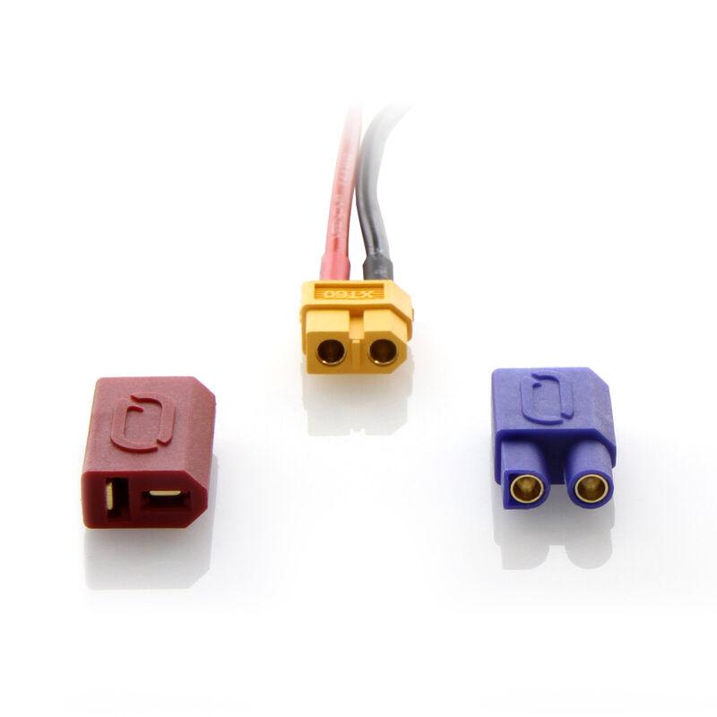 7.4V 1300mAh 2S 30C FLY LiPo Battery: UNI 2.0 Plug