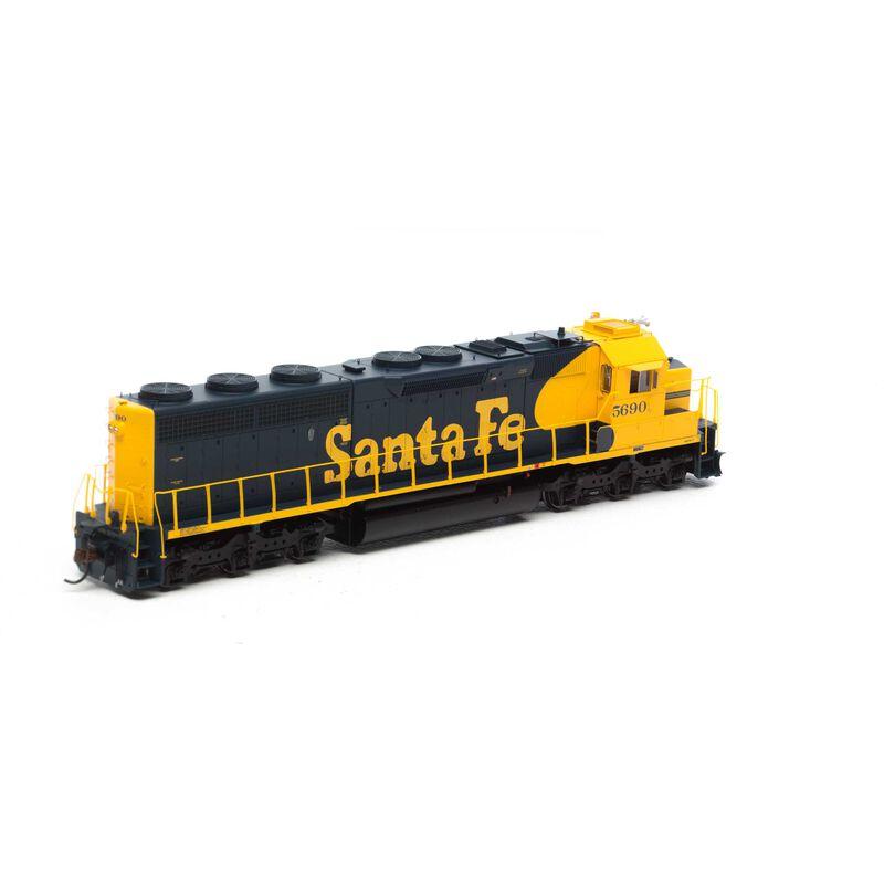 HO SD45-2 w/DCC & Sound, SF #5690