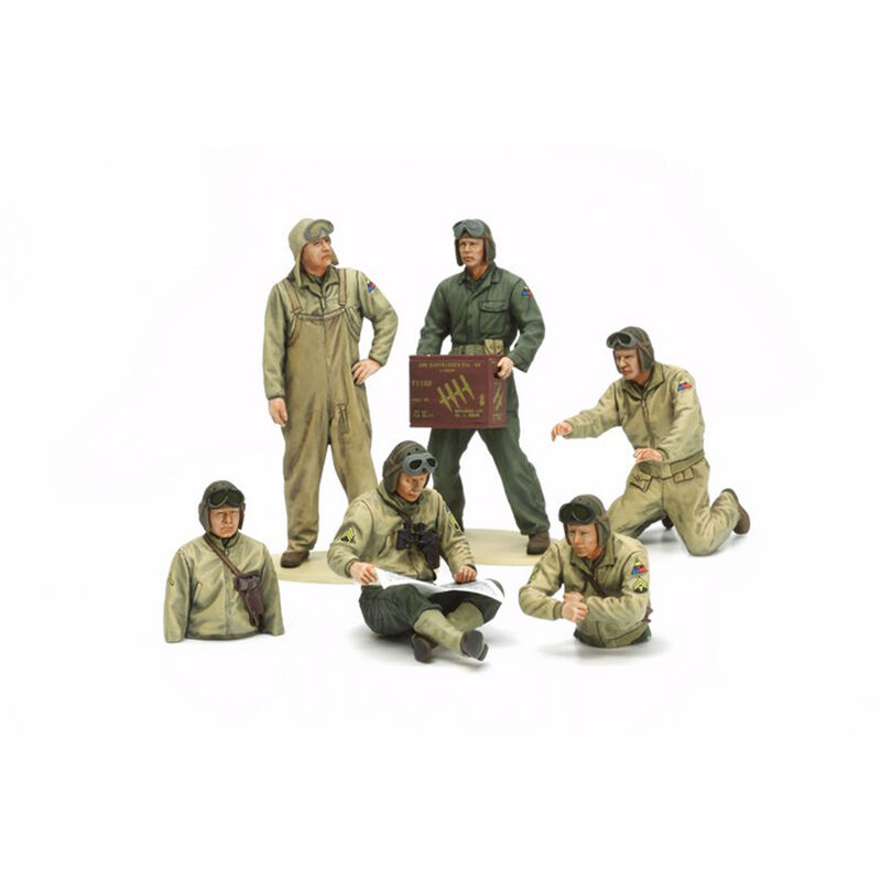 1/35 US Tank Crew Set,  European Theater