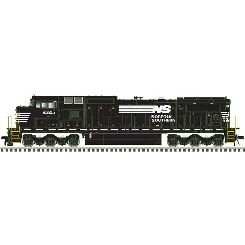 N Dash 8-40CW w DCC & Sound NS #8345