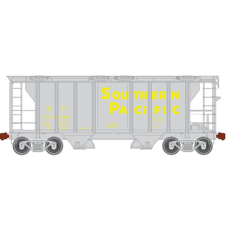 HO Trainman PS-2 Covered Hopper SP #402245