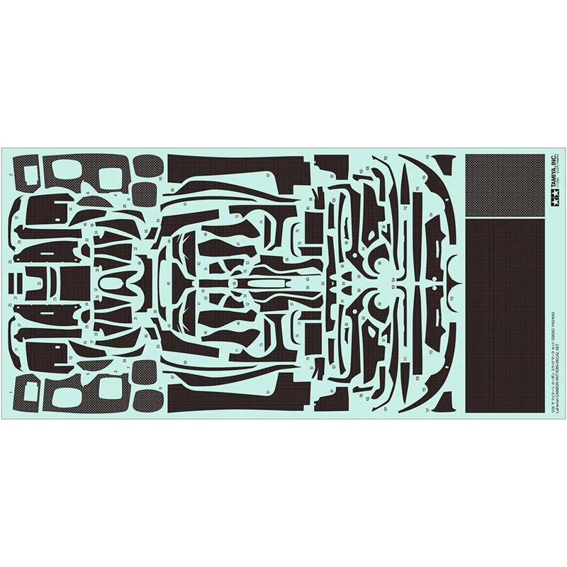 1/24 LaFerrari Carbon Pattern Decal Set