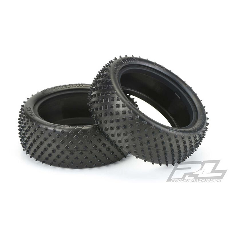 """Front Pyramid 2.2"""" 4WD Z4 Carpet Tire: Buggy"""