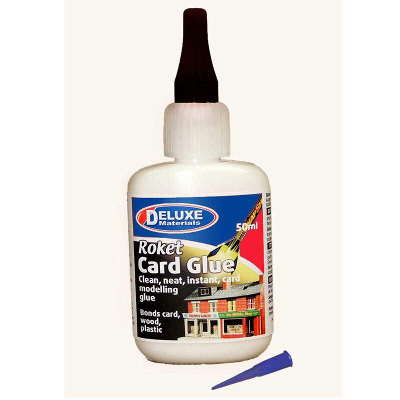Roket Card Glue: Rockets, Railway