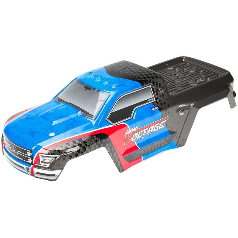 Painted Body with Decals, Blue/Black: Granite Voltage